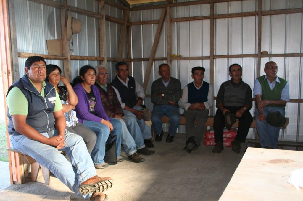Mitglieder der Gemeinschaft José Carvajal