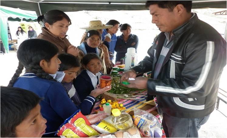 Beteiligung der Kinder an der Gesundheitsmesse