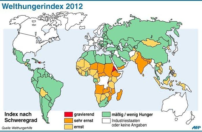 Welthungerindex 2012