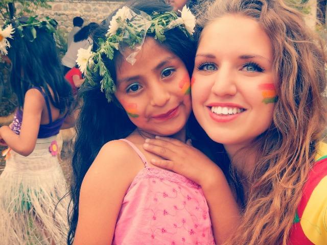 Mitte August reiste Salomé Heindrichs ebenfalls nach Tirani ab, um ein Jahr als Freiwillige im Kindergarten Ch'askalla zu arbeiten.