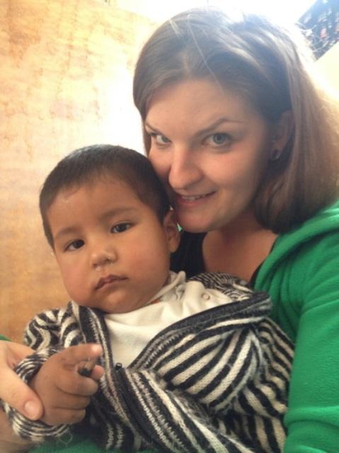 """Am 19. August begann Tonie Schweich ihr Freiwilligenjahr in Cuzco/Peru im """"Sonqo Wasi"""", dem Haus für Frauen, die Opfer häuslicher oder sexueller Gewalt wurden."""