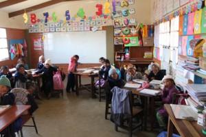 cours d'écologie et d'hygiène à l'école